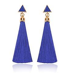 voordelige Oorbellen-Dames Druppel oorbellen , Tupsu Klassiek Modieus Rips Legering Driehoek Sieraden Dagelijks Kostuum juwelen