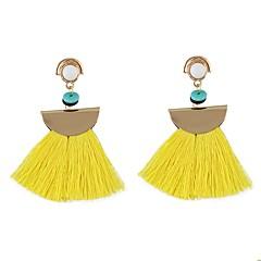 preiswerte Ohrringe-Damen Quaste Tropfen-Ohrringe - Quaste, Grundlegend Blau / Rosa / Hellblau Für Alltag / Verabredung