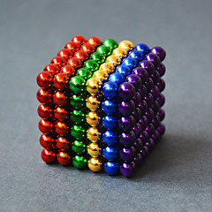 halpa -Magneettilelut Rakennuspalikat magneettipallojen 216 Pieces 5mm Lelut Magneetti Sfääri Lahja