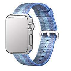 abordables Accessoires Apple Watch-Bracelet de Montre  pour Apple Watch Series 3 / 2 / 1 Apple Bracelet Sport Nylon Sangle de Poignet