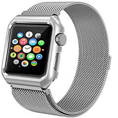 abordables Bracelets Apple Watch-Bracelet de Montre  pour Apple Watch Series 3 / 2 / 1 Apple Bracelet Milanais Acier Sangle de Poignet