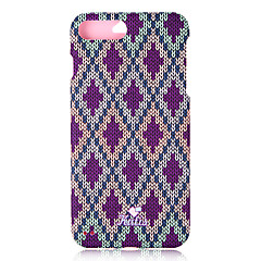 billige iPhone-etuier-Etui Til Apple iPhone 8 iPhone 7 Mønster Fuldt etui Geometrisk mønster Hårdt PC for iPhone 8 Plus iPhone 8 iPhone 7 Plus iPhone 7 iPhone