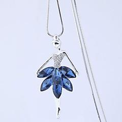 preiswerte Halsketten-Damen Lang Anhängerketten - Prinzessin Europäisch, Modisch Dunkelblau Modische Halsketten Für Party