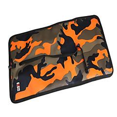 baratos Acessórios para MacBook-Bolsa Côr Camuflagem Poliéster para Adaptador de Tomada / Flash  Drive / Hard Drive