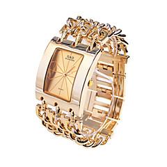 お買い得  メンズ腕時計-男性用 ドレスウォッチ 日本産 クォーツ ゴールド 30 m カジュアルウォッチ ハンズ ぜいたく - ゴールド ホワイト 2年 電池寿命