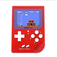 abordables Videoconsolas-mini gamee Audio IN Baterías y Cargadores 100 Juegos Micro USB 2.0 Hasta 200 horas