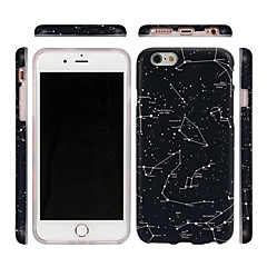 Недорогие Кейсы для iPhone-Кейс для Назначение Apple iPhone 7 Plus iPhone 7 Ультратонкий С узором Кейс на заднюю панель Цвет неба Мягкий ТПУ для iPhone 7 Plus