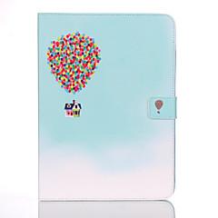 Недорогие Чехлы и кейсы для Galaxy Tab 4 10.1-Кейс для Назначение Samsung Tab 4 10.1 Кошелек / Бумажник для карт / со стендом Чехол Воздушные шары Твердый Кожа PU для Tab 4 10.1