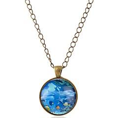 preiswerte Halsketten-Damen Anhängerketten - Delphin, Tier Bronze Modische Halsketten 1 Für Abiball, Verabredung