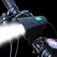tanie -Tylna lampka rowerowa Przednia lampka rowerowa LED LED Kolarstwo Zestawy Akumulator 1200 Lumenów Akumulatory Biały
