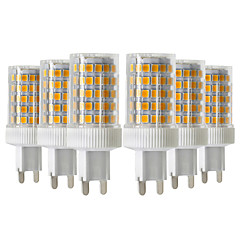 cheap LED Bulbs-YWXLIGHT® 6pcs 10W 900-1000 lm G9 LED Bi-pin Lights T 86 leds SMD 2835 Dimmable Warm White Cold White Natural White 220-240V