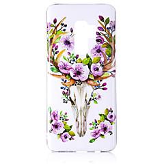 olcso Galaxy S6 Edge tokok-Case Kompatibilitás Samsung Galaxy S9 S9 Plus Foszforeszkáló IMD Minta Fekete tok Ragyog Állat Puha TPU mert S9 Plus S9 S8 Plus S8 S7