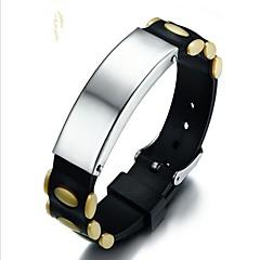 preiswerte Armbänder-Herrn Armband - Modisch Armbänder Schwarz / Gelb / Grün Für Geschenk Alltag