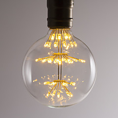 preiswerte LED-Birnen-BRELONG® 1pc 2.5W 300lm E26 / E27 LED Kugelbirnen 47 LED-Perlen SMD Dekorativ Warmes Weiß 220-240V