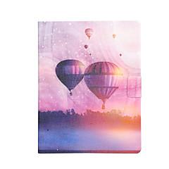 Недорогие Чехлы и кейсы для Galaxy Tab 3 Lite-Кейс для Назначение Apple Tab 4 8.0 / Tab 4 7.0 / Tab 3 7.0 Бумажник для карт / Защита от удара / со стендом Чехол Воздушные шары Твердый Кожа PU для Tab 4 8.0 / Tab 4 7.0 / Tab 3 7.0