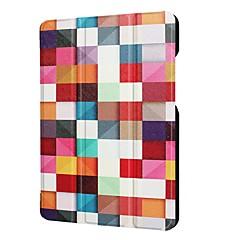 お買い得  その他のケース-ケース 用途 Asus ZenPad 3 8.0 Z581KL スタンド付き フルボディーケース 幾何学模様 フクロウ エッフェル塔 ハード PUレザー のために ASUS ZenPad 3 8.0 Z581KL