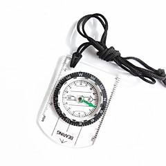 abordables Brújulas-Compases Ligero y Conveniente Medida Tamaño Pequeño Compás Escalada Ejercicio al Aire Libre Trekking El plastico cm 1 pcs