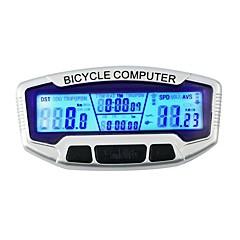 tanie Liczniki rowerowe-SD-558A Komputer rowerowy Jazda na rowerze Stoper podświetlenie LCD Drogomierz Zegar Rekreacyjna jazda na rowerze Kolarstwo / Rower Rower