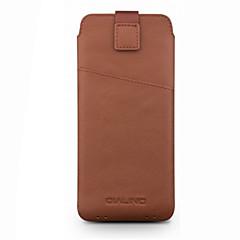 halpa Universaalit kotelot ja laukut-Etui Käyttötarkoitus Huawei P10 Lite P11 Korttikotelo Iskunkestävä Pikku pussi Yhtenäinen väri Pehmeä aitoa nahkaa varten Huawei G9 Plus