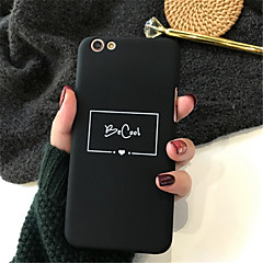 abordables Fundas para iPhone 6s-Funda Para Apple iPhone X / iPhone 7 Plus Diseños Funda Trasera Palabra / Frase Dura Acrílico para iPhone X / iPhone 8 Plus / iPhone 8
