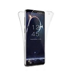 halpa Galaxy S6 Edge kotelot / kuoret-Etui Käyttötarkoitus Samsung Galaxy S9 S9 Plus Ultraohut Suojakuori Yhtenäinen väri Pehmeä TPU varten S9 Plus S9 S8 Plus S8 S7 edge S7 S6