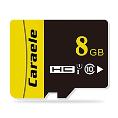 abordables Tarjetas de Memoria-Caraele 8GB Tarjeta TF tarjeta Micro SD tarjeta de memoria Clase 10 CA-2