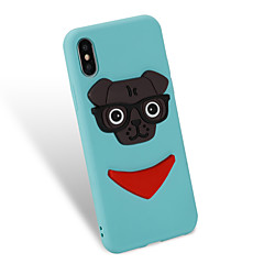cheap iPhone Cases-Case For Apple iPhone X iPhone 8 Pattern DIY Back Cover Dog Soft TPU for iPhone X iPhone 8 Plus iPhone 8 iPhone 7 Plus iPhone 7 iPhone 6s
