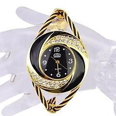 voordelige Horloges voor stellen-Dames Voor Stel Modieus horloge Sporthorloge Vrijetijdshorloge Chinees Kwarts Waterbestendig Vrijetijdshorloge Roestvrij staal Band Luxe