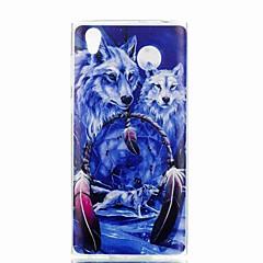 tanie Etui / Pokrowce do Sony-Kılıf Na Sony Xperia XA Xperia L1 Wzór Czarne etui Zwierzę Miękkie TPU na Xperia XZ1 Compact Sony Xperia XZ1 Sony Xperia XA1 Sony Xperia