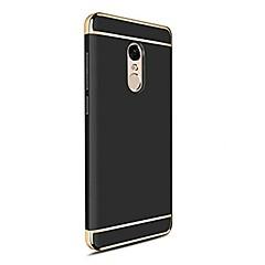 Недорогие Чехлы и кейсы для Xiaomi-Кейс для Назначение Xiaomi Mi 6 Plus Mi 5s Plus Покрытие Кейс на заднюю панель Сплошной цвет Твердый ПК для Mi 6 Plus Xiaomi Mi 6 Xiaomi