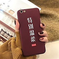 Недорогие Кейсы для iPhone 7 Plus-Кейс для Назначение Apple iPhone X iPhone 7 Plus С узором Кейс на заднюю панель Слова / выражения Твердый Акрил для iPhone X iPhone 8