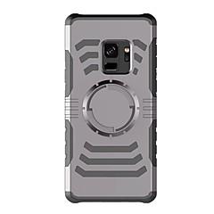 Недорогие Универсальные чехлы и сумочки-Кейс для Назначение SSamsung Galaxy S9 Plus / S9 Нарукавная повязка С ремешком на руку Однотонный Твердый пластик для S9 / S9 Plus / S8 Plus