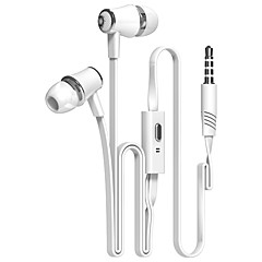 cheap Headsets & Headphones-Earphones (Earbuds, In-Ear) Wired Headphones Piezoelectricity Plastic Shell Mobile Phone Earphone Headset