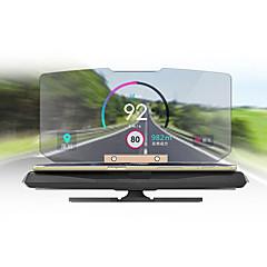 Недорогие Приборы для проекции на лобовое стекло-Дисплей заголовка Складной для Автомобиль Дисплей KM / h MPH