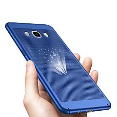 hesapli -Pouzdro Uyumluluk Samsung Galaxy J7 (2017) / J5 (2017) Ultra İnce Arka Kapak Solid Sert Plastik için J7 (2017) / J7 (2016) / J7