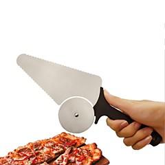 お買い得  ベイキング用品&ガジェット-ベークツール ステンレス鋼430 ベーキングツール パン / ピザ / ケーキのための 円形 ケーキカッター 1個