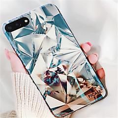 Недорогие Кейсы для iPhone 6 Plus-Кейс для Назначение Apple iPhone X iPhone 7 Plus С узором Кейс на заднюю панель Геометрический рисунок Мягкий ТПУ для iPhone X iPhone 8