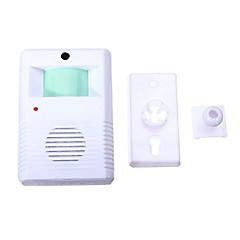voordelige Toegangscontrolesystemen-905 Draadloos One to One Doorbell Ding Dong Infrarood sensor Oppervlak Gemonteerd deurbel