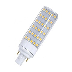 cheap LED Bulbs-SENCART 1pc 5.5W 580-650lm G24 LED Bi-pin Lights T 30 LED Beads SMD 5050 Decorative Warm White / White 85-265V / 12V