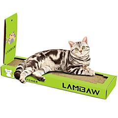 お買い得  猫用おもちゃ-キャットニップ ベッド シンプル ペットフレンドリー スクラッチマット パラベンフリー ホルムアルデヒドフリー キャットニップ 段ボール紙 用途 猫用