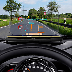 cheap Car Accessories-ZIQIAO Universal Car GPS HUD Head Up Display Holder for Car Display KM/h MPH