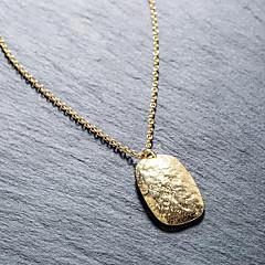 preiswerte Halsketten-Damen Anhängerketten - 18K vergoldet, S925 Sterling Silber Einfach, Europäisch, Modisch Gold, Silber 45 cm Modische Halsketten Für