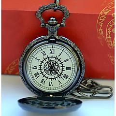 preiswerte Damenuhren-Herrn Paar Armbanduhren für den Alltag Modeuhr Taschenuhr Quartz Armbanduhren für den Alltag Cool Legierung Band Analog Retro Freizeit Silber - Schwarz / Gelb Schwarz / Weiß