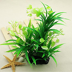 お買い得  アクアリウムデコレーション-アクアリウムの装飾 Waterproof 水草 植物 防水 デコレーション 洗濯可 プラスチック