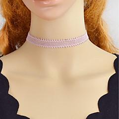 preiswerte Halsketten-Halsketten - Spitze Beige 39 cm Modische Halsketten 4pcs Für Party / Abend, Schultaschen