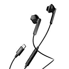お買い得  ヘッドセット、ヘッドホン-C16 タイプ-c ヘッドホン 圧電性 プラスチック 携帯電話 イヤホン ボリュームコントロール付き ヘッドセット