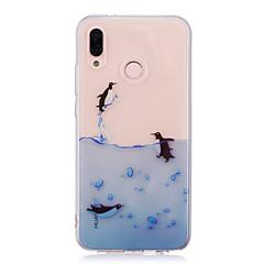 billige Nyheder-Etui Til Huawei P20 lite P20 Pro IMD Transparent Mønster Bagcover Dyr Blødt TPU for Huawei P20 lite Huawei P20 Pro Huawei P20 P10 Plus