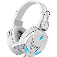 tanie Akcesoria dla gracza PC-KINBAS Przewodowy / a Słuchawki Na PC Słuchawki Skóra PU 1pcs jednostka USB 2.0