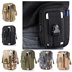 billige Rygsække og tasker-1.5L Bæltetasker - Letvægt, Påførelig Camping, Militær Oxfordtøj Army Grøn, Kamuflage, Kakifarvet