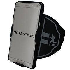 Недорогие Универсальные чехлы и сумочки-Кейс для Назначение SSamsung Galaxy Note 8 Note 5 Спортивныеповязки Бумажник для карт Защита от удара С ремешком на руку Однотонный